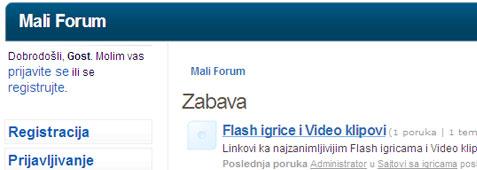 Mali Forum