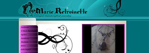 Marie Retroinette jewelry