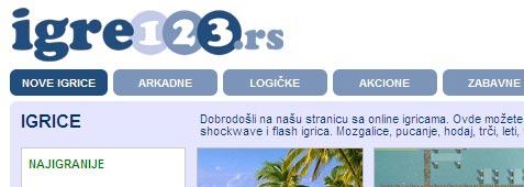 Igrice na Igre123.rs