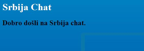 Srbija Chat