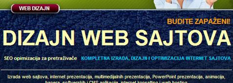 Dizajn web sajtova