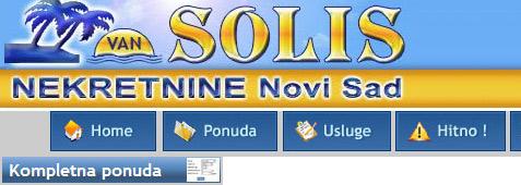 Solis nekretnine – stanovi Novi Sad